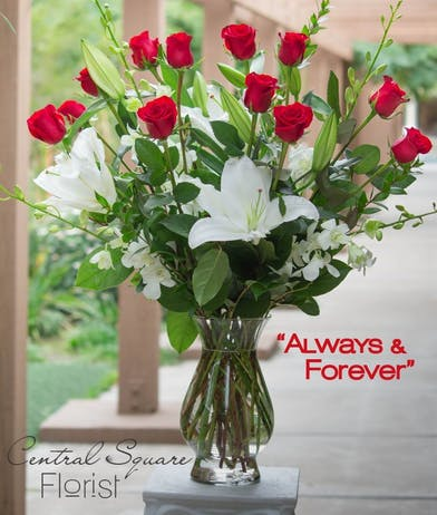 Always & Forever Flowers in Boston, MA - Same-day Delivery - Central Square Florist