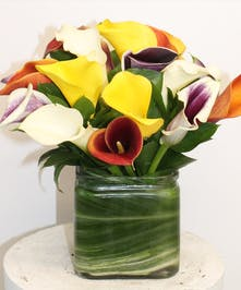 Calla Lily Vase in Boston, MA