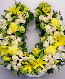 Horseshoe Sympathy Wreath