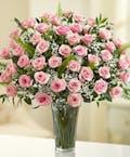 Long Stem Pink Roses