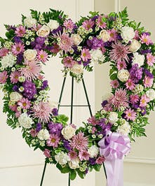 Convey your deepest condolences and undying love with this beautiful arrangement