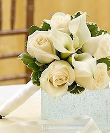perfect for mother of the bride or groom, or as the toss-away bouquet