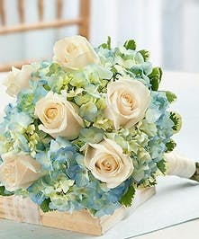 perfect for mother of the bride or groom, or as a toss-away bouquet