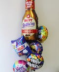 Happy Beer Birthday Balloon Bouquet