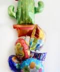 Cactus Birthday Balloon Bouquet