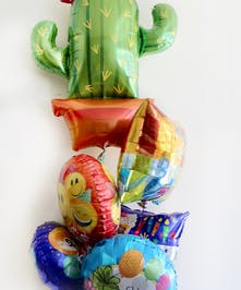 Cactus Birthday Balloon Bouquet in Boston, MA