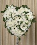 Elegant White Heart