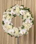 Elegant White Wreath
