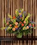 Glowing Tribute Funeral Basket