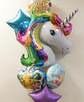 Unicorn Get Well Balloon Bouquet