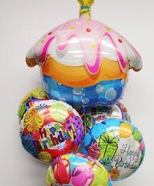 Jumbo Cupcake Mylar Balloon