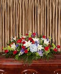 Patriotic Casket Cover