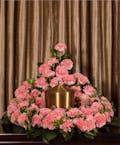 Pink Carnation Memorial Embrace
