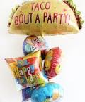 Taco Birthday Balloon Bouquet