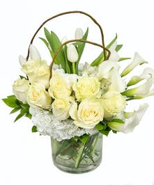 Elegance in White Bouquet