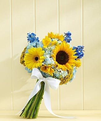 Country Wedding Bridesmaid Bouquet