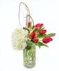 Standard - 10 Tulips, 1 Hydrangea