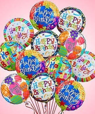 21st Birthday Balloons Mylar Latex Balloon Bouquets Delivery Boston MA