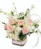 Premium - With 7 Roses & 5 Orchids