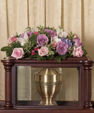 Soft Colored Urn Cover