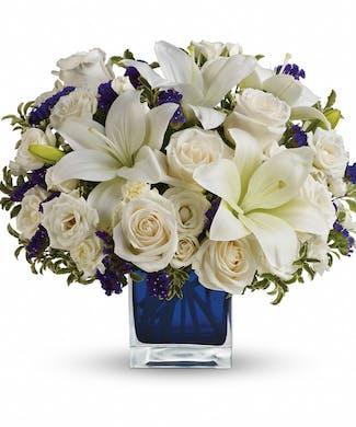 Sapphire Skies Bouquet