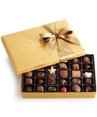 Godiva 36 Piece Assorted Chocolates