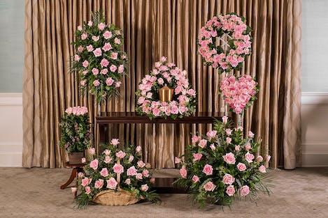 Pink Roses Memorial